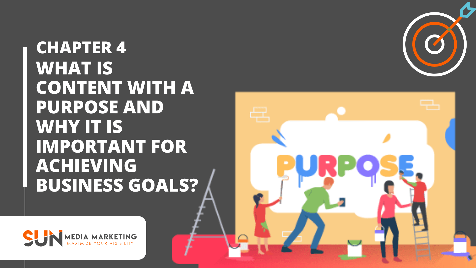What is content with a purpose and why it is important for achieving business goals