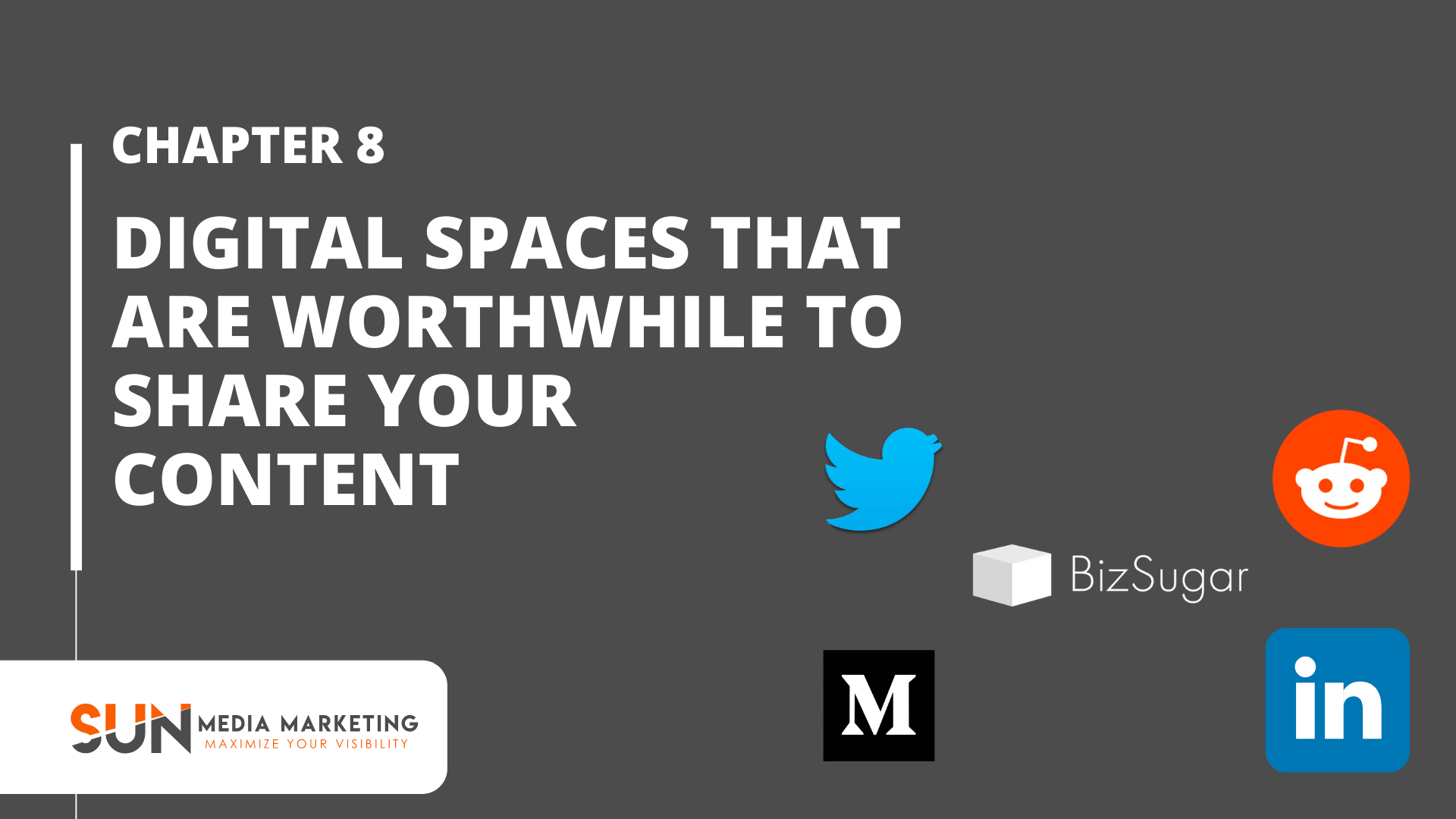 Digital Spaces that are worthwhile to share your content